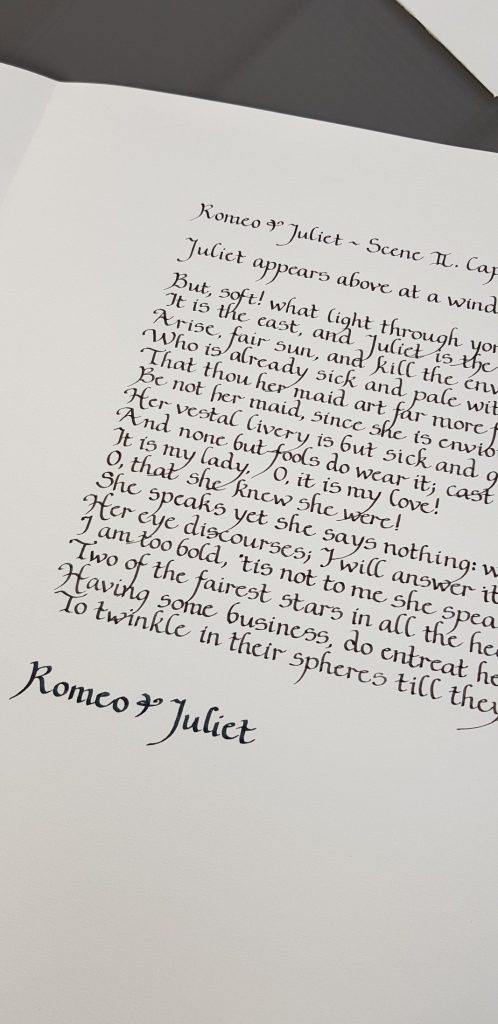 Custom Calligraphy on Poems