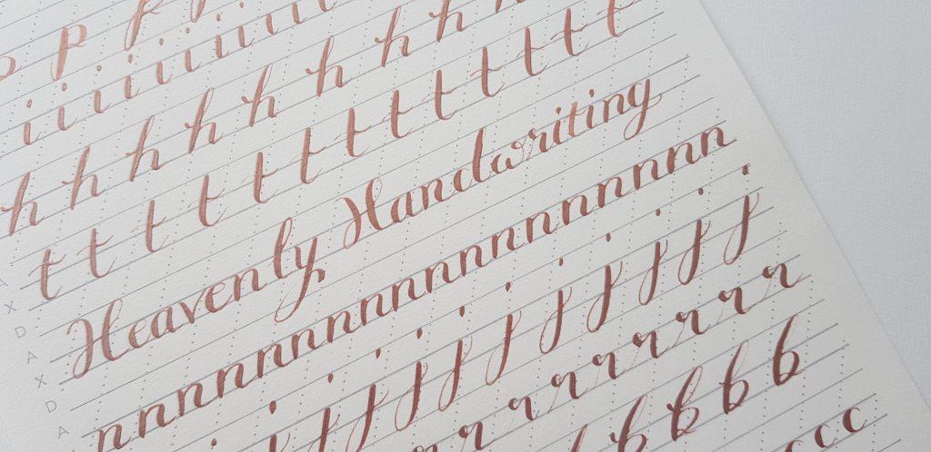 calligraphy specimens