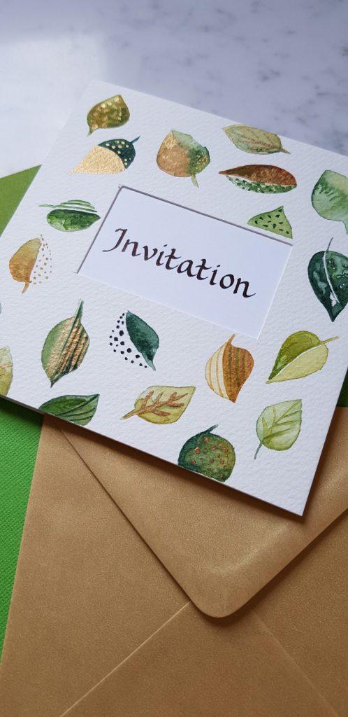 handwritten invitations 3