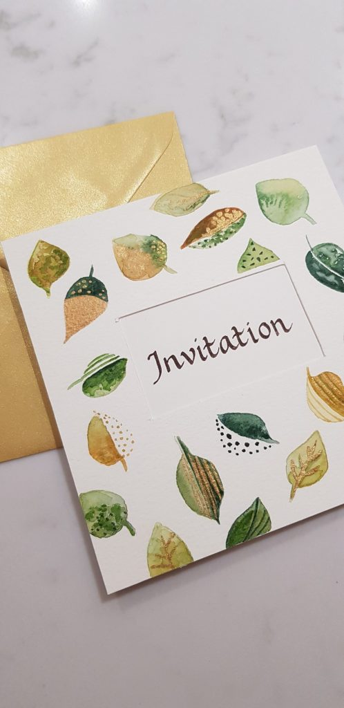 handwritten invitations 5