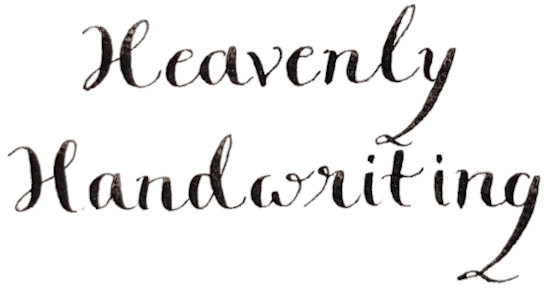Paula's Handwriting - Bespoke calligraphy for special occasions website
